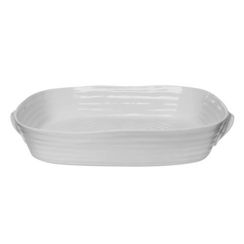 Portmeirion  Sophie Conran Grey Large Handled Rectangular Roasting Dish $56.00