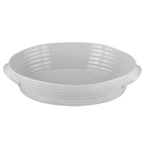Portmeirion  Sophie Conran Grey Large Handled Oval Roasting Dish $49.00