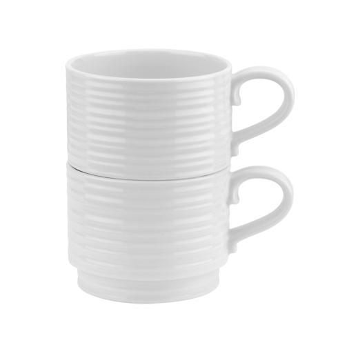 Portmeirion  Sophie Conran White Set of 2 Stacking Cups $24.99