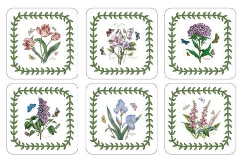 Botanic Garden 6 Motifs Coasters