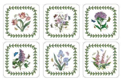Botanic Garden 6 Motifs Coasters collection with 1 products