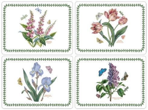 $40.00 Botanic Garden 4 Motifs Placemats