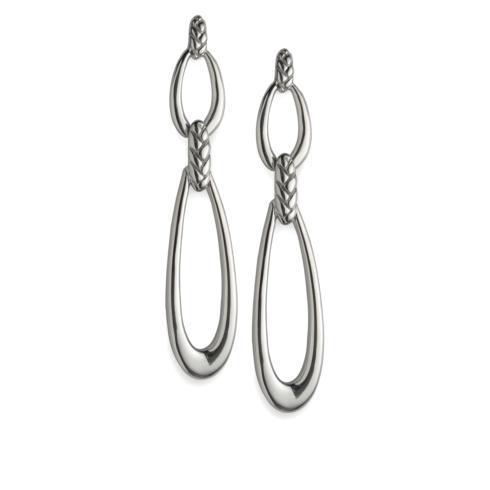 $180.00 Braid Double Loop Earrings