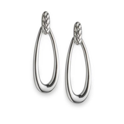 $135.00 Braid Loop Earrings