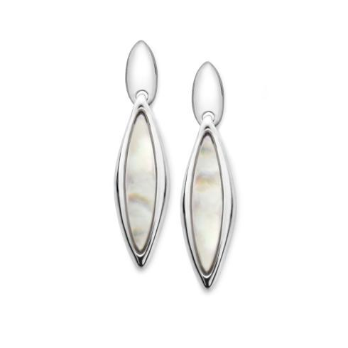 $200.00 Marquise Earrings Mother of Pearl