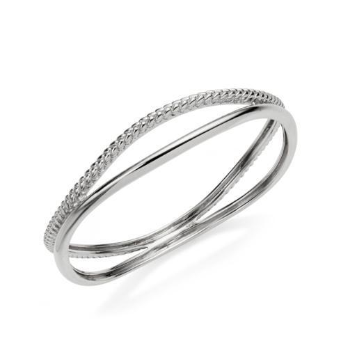$295.00 Braid Bangle Bracelet