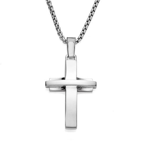 $250.00 Streamlined Cross Pendant