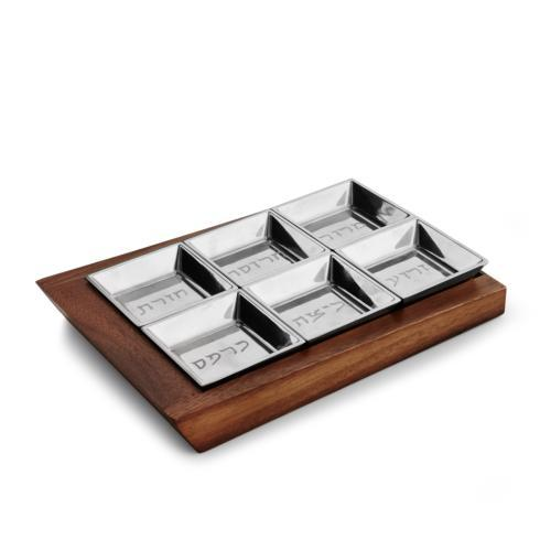 $160.00 Geo Seder Plate