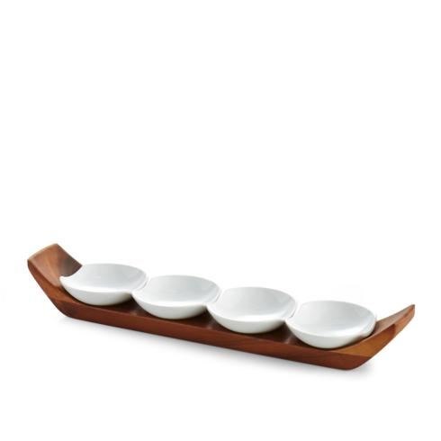 Nambé  Gourmet Quatro Snack and Serve Set $80.00