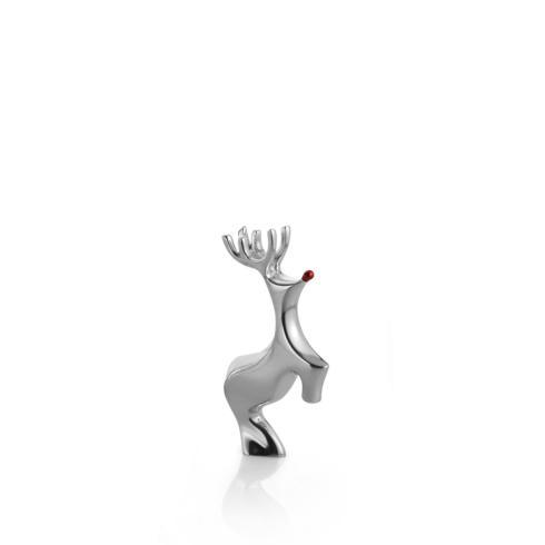 Nambé  Holiday Mini Red-Nosed Reindeer  $29.00
