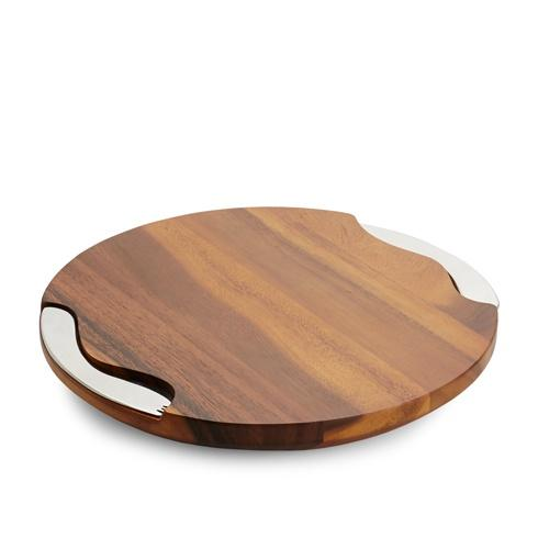 Nambé  Serveware Tray-Cheese Block With Knife & Spreader $85.00