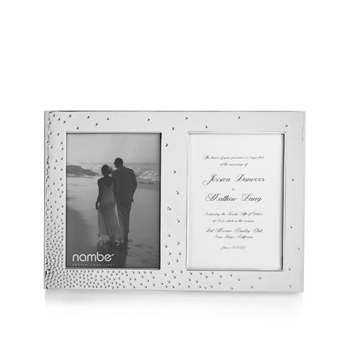 "$100.00 Dazzle Double Invitation Frame - 5""x7"" Photo"