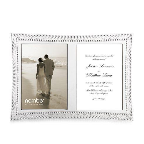 Nambé  Frames Beaded Double Invitation $100.00