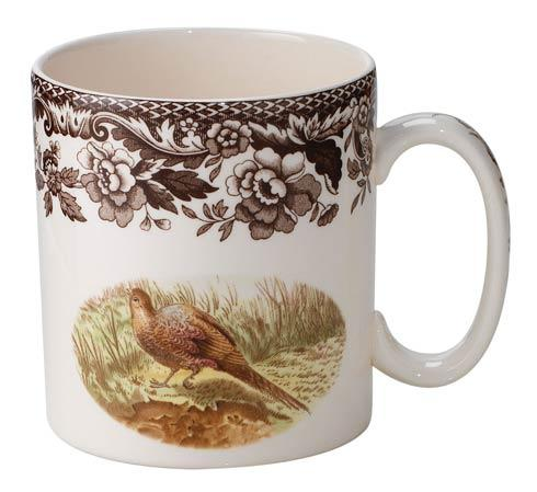 Spode Woodland Assorted Pheasant and Grouse 9  Mug $34.50