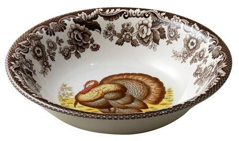 Spode Woodland Turkey Collection Ascot Cereal Bowl $36.40