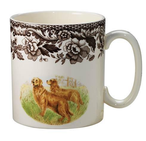 Spode Woodland Hunting Dogs Collection Golden Retriever Mug $34.50