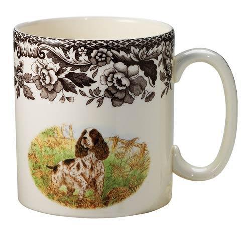 Spode Woodland Hunting Dogs Collection Spaniel Mug $34.50