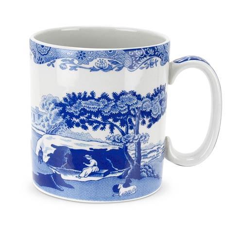 Spode  Blue Italian Set of 4 Mugs $63.50