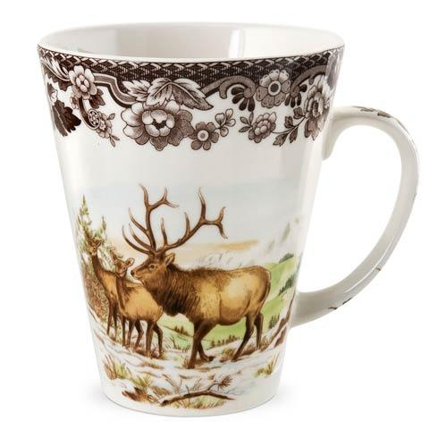 Spode Woodland American Wildlife Collection Elk Mug $44.20