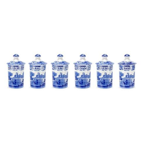 Spode  Judaica Set of 6 Spice Jars $68.00