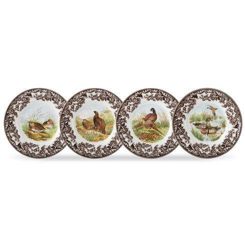 Birds Set of 4 Canapé Plates image