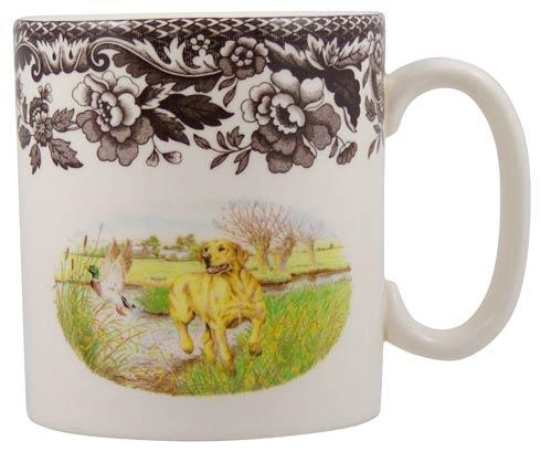 Spode Woodland Hunting Dogs Collection Yellow Labrador Retriever Mug $44.00