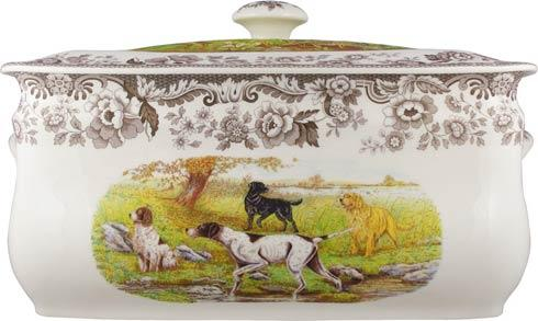 Spode Woodland Hunting Dogs Collection Bread Bin $264.60