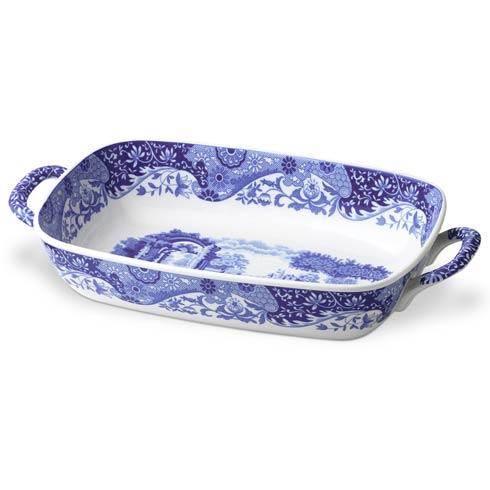 Spode  Blue Italian Handled Serving Dish $47.80