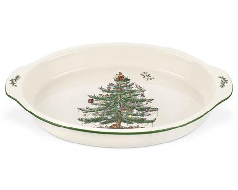 Spode Christmas Tree  Bakeware Au Gratin Dish $47.50