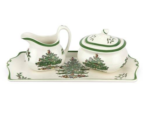 Spode Christmas Tree  Serveware/Giftware 3-pc Serving Set $73.50