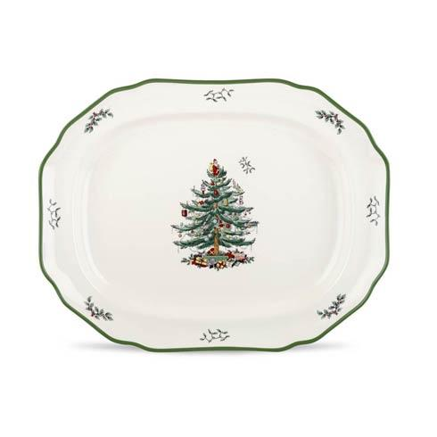 Spode Christmas Tree  Serveware/Giftware Sculpted Platter $73.50
