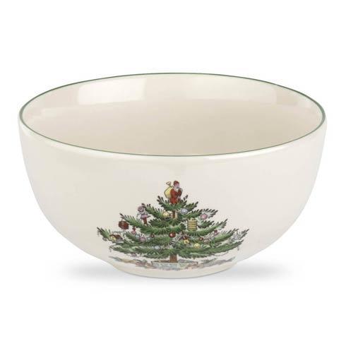 Spode Christmas Tree  Dinnerware/Entertaining Fruit Salad Bowl Set of Four $64.00