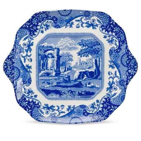 Spode  Blue Italian English Bread and Butter Plates $21.00