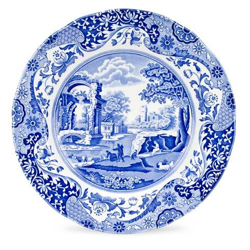 Spode  Blue Italian Set of 4 Dinner Plates $91.00