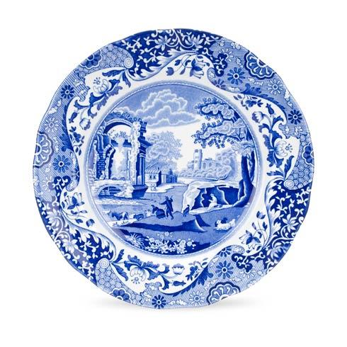 Spode  Blue Italian Set of 4 Luncheon Plates $84.00