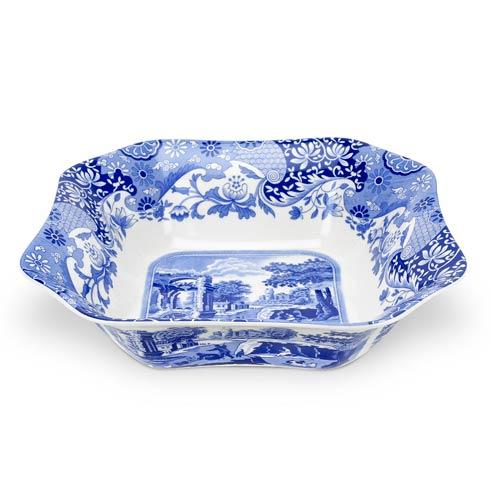 Spode  Blue Italian Square Serving Bowl $99.00