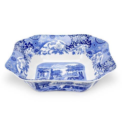 Spode  Blue Italian Square Serving Bowl $140.00