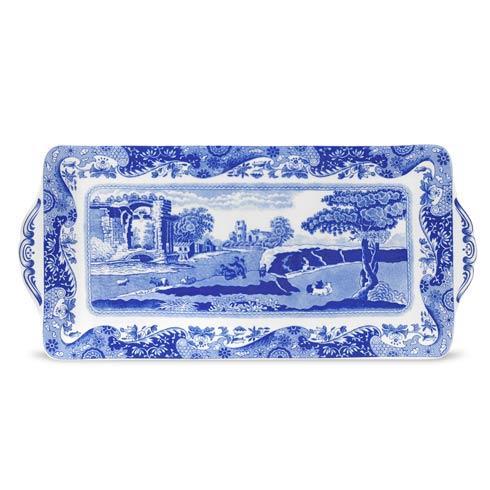 Spode  Blue Italian Sandwich Tray $57.00