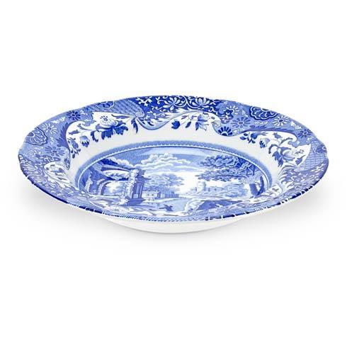 Spode  Blue Italian Set of 4 Soup Plates $144.00
