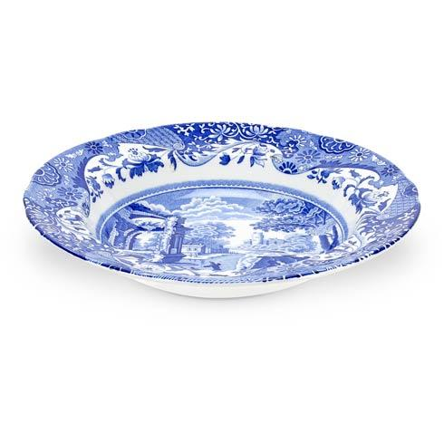 Spode  Blue Italian Set of 4 Soup Plates $144.00