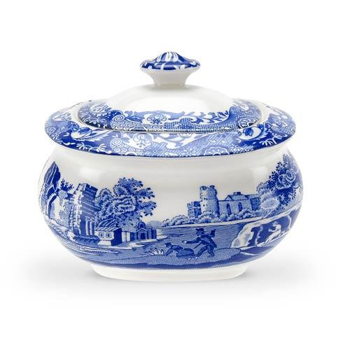 Spode  Blue Italian Covered Sugar Bowl $56.00