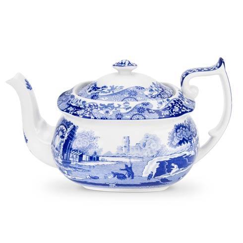 Spode  Blue Italian Teapot $130.00