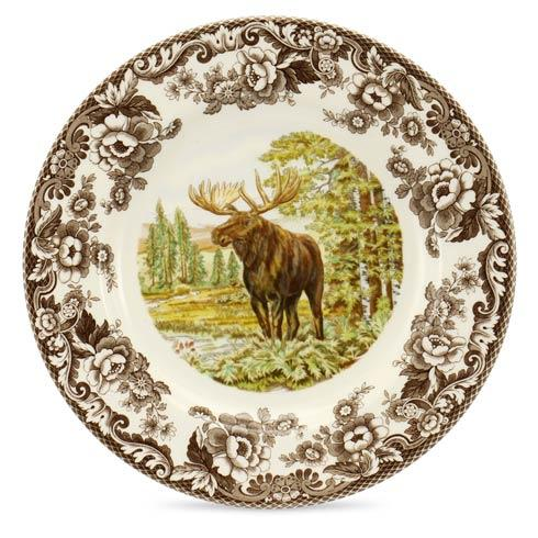 Spode Woodland Assorted Majestic Moose Dinner Plate $37.00