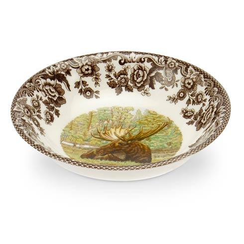 $30.80 Majestic Moose Cereal Bowl