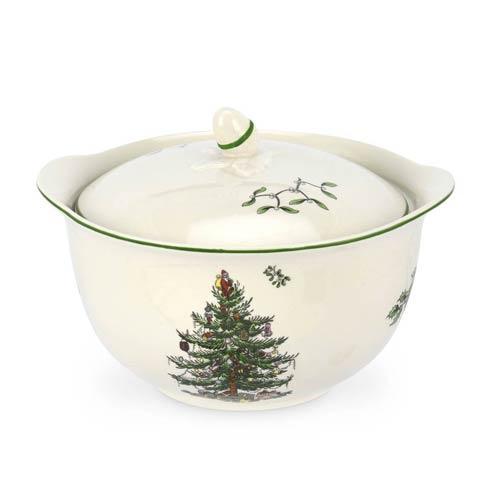 Spode Christmas Tree  Serveware/Giftware Individual Casserole w/ Handles $31.50