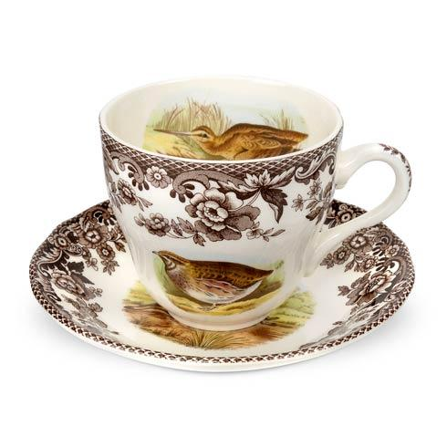 Spode Woodland Assorted Teacup and Saucer $43.00