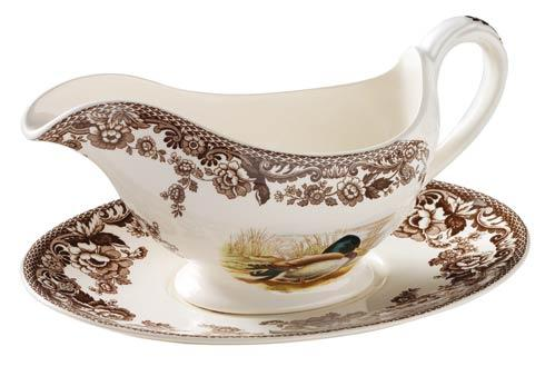 Spode Woodland Assorted Sauce Boat and Stand $210.00