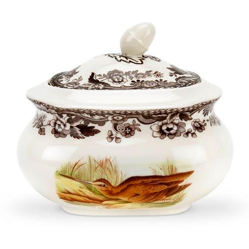 Spode Woodland Assorted Snipe and Pintail Covered Sugar Bowl $121.80