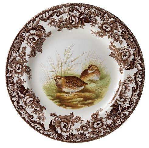 Spode Woodland Assorted Quail Dinner Plate $37.00