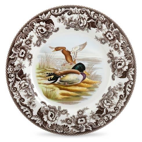 Spode Woodland Assorted Mallard Dinner Plate $37.00